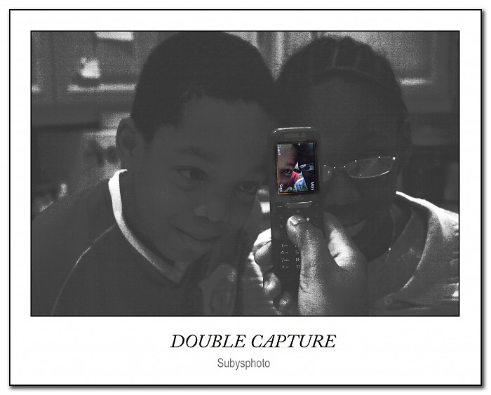 photoblog image Double Capture