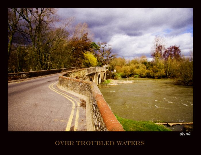 photoblog image OVER TROUBLED WATERS